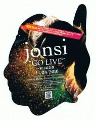 """jonsi """"GO LIVE"""""""