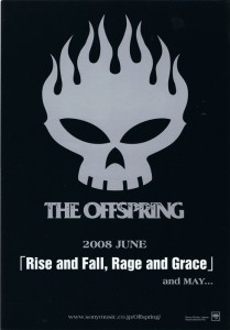 """THE OFFSPRING """"Rise and Fall,Rage and Grace"""""""