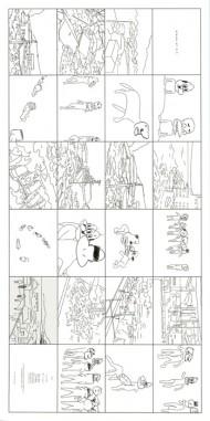 しりあがり寿展「3月11日のかけら(pieces of 3.11)」「ゆるめ〜しょん」